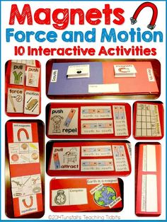 Magnets, Force, and Motion | Tunstall's Teaching Tidbits | Bloglovin'