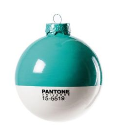 Pantone Christmas Ornament 15-5519 Turquoise >>> You can get more details by clicking on the image.