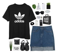 """Untitled #448"" by amy-lopezx ❤ liked on Polyvore featuring adidas, Oliver Peoples, PhunkeeTree, Nixon, Dunhill and SELECTED"