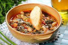 Przepis na Toskańska zupa fasolowa