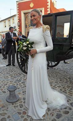 Roberto Diz, el diseñador que ha vestido a las novias e invitadas del año - Foto 1