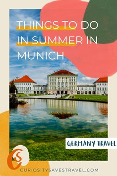 Summer in Munich: 40 Things to do in Munich to Beat the Heat - a Local's Guide! I places to go in Munich I what to do in Munich I Munich travel guide I Germany travel I visit Germany I things to do in Munich I summer travel in Germany I summer in Germany I Germany travel tips I tips for Munich travel I where to go in Munich I Germany summer tips I local travel tips I Munich travel I visit Munich I Europe travel I summer in Europe I Munich attractions I #Munich #Germany Europe Travel Tips, Travel Usa, Travel Guides, Travel Destinations, Travel Goals, Holiday Destinations, Visit Germany, Germany Travel, Visit Munich