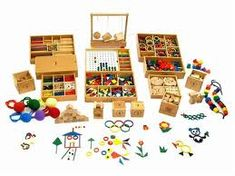 great thinkers begin their greatness in childhood. these are Froebel's gifts. blog post by ThinkingWithThings. Lovely.