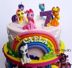 https://flic.kr/p/MtKVbe | my little pony cake