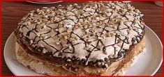 Vă prezentăm rețeta unui tort deosebit de delicios. Acest desert reprezintă o combinație perfectă de blat fraged, cu bezea crocantă și cremă fină. Obțineți un tort de casă ce cu ușurință face concurență oricărui alt desert din comerț. Surprindeți-vă oaspeții cu una astfel de deliciu și rețeta va fi la mare căutare. INGREDIENTE PENTRU ALUAT -3 gălbenușuri -200 g de unt moale (la temperatura camerei) -1 pahar de zahăr -10 g praf de copt -1 linguriță de zahăr vanilat -2.5 pahare de făină… Tiramisu, Marie, Caramel, Deserts, Breakfast, Ethnic Recipes, Food, Management, Bakken