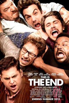 This Is The End ~ Well a movie which you gonna like it, sort of well concept but brilliantly executed...and what a finale to end! Everybody rock your body!!