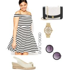 Untitled #7 by hannah-grace8965 on Polyvore featuring polyvore fashion style ASOS Curve Michael Kors