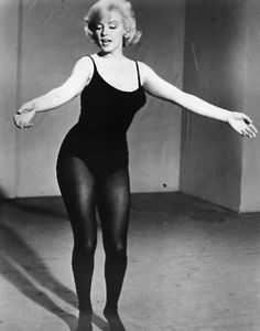 Marilyn loved her curves... she didn't look like a boy... and she wasn't a size…