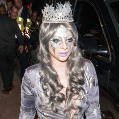 Celebrities have channeled their inner fairies, superheroes, and otherwordly creatures in sparkly makeup you can re-create with highlighter.