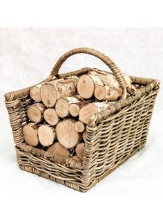 Logs Direct are specialist suppliers of Whole round decorative birch logs. Logs Direct can supply decorative logs to commercial or residential premises throughout the UK. Wood Storage Box, Firewood Storage, Kitchen Storage, Decorative Fireplace Logs, Log Burning Stoves, Firewood Logs, Birch Logs, Fireplace Bookshelves, Under Stairs Cupboard
