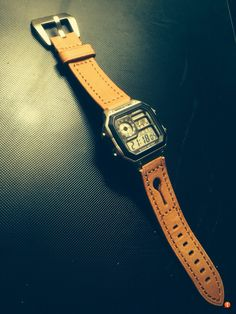 Casio AE1200 AKA Bond Casio Royal on leather