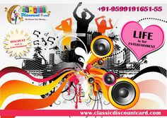 #Classic_Discount_Card gives more & more discount on #Entertainment. #Buy our #Classic_Discount_Card and get discount.