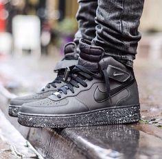 Black Glitter Nike