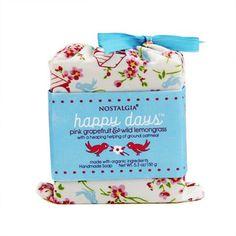 お洒落パッケージの石鹸特集!女性にちょっとしたプレゼント