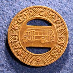 Scarce California Transit Token Inglewood City Lines One Ride   eBay