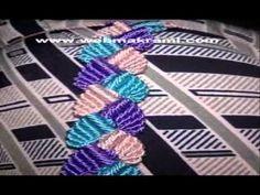 macramé jalaba ماكرامي الجلابة - YouTube