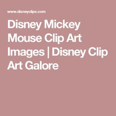 Disney Mickey Mouse Clip Art Images | Disney Clip Art Galore