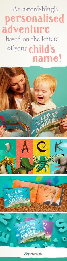 Make story time more magical with a personalised book from Lost My Name. The wonderfully written and beautifully illustrated personalised book takes your child on an adventure to find their missing name, collecting letters from the exciting characters they meet. Each book is made to order and personalised so it's unique and special to your child. Receive free shipping when you order today.