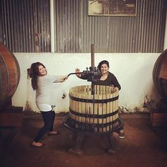 Getting cray cray with my sis - Weinkrake #mywinemoment