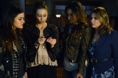 """""""A"""" takes the game up a notch as the PLLs get closer to finding out their identity, in """"Bite Your Tongue,"""" an all new episode of ABC Family's hit original series """"Pretty Little Liars,"""" airing Tuesday, January 28th (8:00 - 9:00 PM ET/PT). Be sure to tune in! #LiarsUnite"""