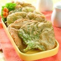 Rempeyek Bayam Pedas Makanan Dan Minuman Masakan Resep