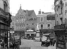 Kidderminster, The Bull Ring c.1950, from Francis Frith