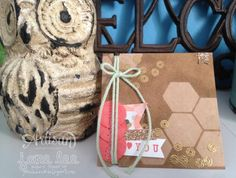 Sequins  Hexagons - aww | Jane Lee http://janeleescards.blogspot.com