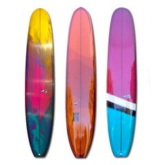 Surfboard coffee table natural wood and navy blue planche de surf bois nat - Peinture bois sur fer ...