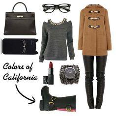 La chiave per essere alla moda anche con il freddo? L'abbinamento cappotto, borsa e rigorosamente boots Colors of California!!!