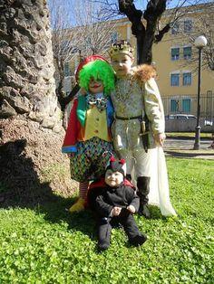Re d'Austria, Clown e Ladybug