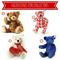 View our Valentine's Day Gift Guide for the perfect selection of gifts for everyone on your list! #valentinesday #gifts #steiff #steiffusa