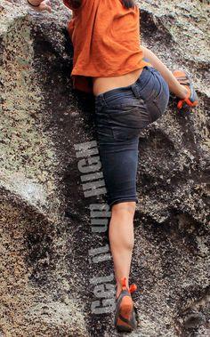 Girl Beta... works every time. (Natalie Duran) #climbing