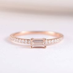 Colorful Cz Band Stack Ring Gold Various Colors Bezel Set Baguette Stone Wave Twist Band Rings Demand Exceeding Supply Back To Search Resultsjewelry & Accessories