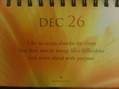 Move ahead with purpose