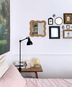on trend: bohemian whimsy. Town And Country Magazine, San Francisco Girls, Pink Chandelier, Traditional Lanterns, Vintage Wall Sconces, Painted Plates, Rustic Wall Decor, Elle Decor, New Room