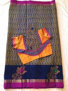 Churidar Neck Designs, Pattu Saree Blouse Designs, Blouse Designs Silk, Designer Blouse Patterns, Kurta Designs, Patch Work Blouse Designs, Simple Blouse Designs, Stylish Blouse Design, Sumo