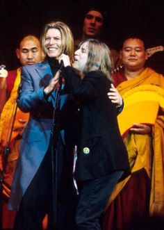 Patti and David concert for Tibet