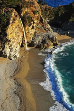 McWay Falls, Big Sur, California | See More Pictures |