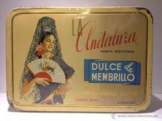 Lata de membrillo La Andaluza.