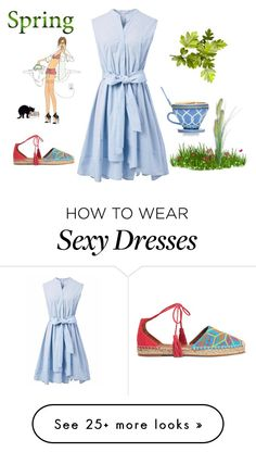 """""""Untitled #2565"""" by doinacrazy on Polyvore featuring Chicwish, Kate Spade and Aquazzura"""