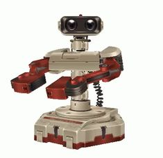Famicom Robot - Robotic Operating Buddy - ROB - Nintendo character - Super Smash Bros. Brawl - Super Smash Brothers Brawl - Super Smash Bros. games - Super Smash Brothers games - Wii