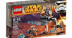 Star Wars LEGO Star Wars 75089 Geonosis Troopers Provide mobile firepower with the Geonosis Troopers battle pack with walker, rapid shooter, 4 minifigures and stud blasters.Suitable for builders ages 6 to 12 y (Barcode EAN = 5054242262660) http://www.comparestoreprices.co.uk//star-wars-lego-star-wars-75089-geonosis-troopers.asp