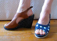 De ensueños y costuras: Reciclaje Zapatos? ¿Por qué sí, por supuesto!