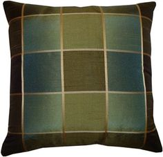 16 x 16 inches Decorative Pillow Cover  in Shades of by LenkArt, $25.99