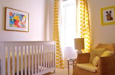 love this use of yellow for a room!
