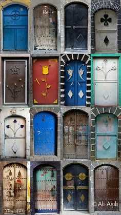 Old Doors of Diyarbakir by Ali ASILI on 500px
