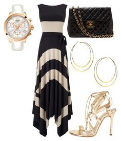 """Untitled #25207"" by edasn12 ❤ liked on Polyvore featuring Phase Eight, Chelsea Paris, Lana and Tissot"