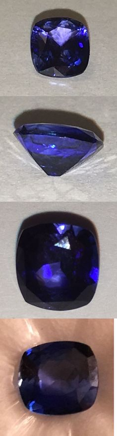 Natural Sapphires 4644: 1.54 Carat Blue Sapphire - Cushion Cut Reduced $800.00!! -> BUY IT NOW ONLY: $4500 on eBay!