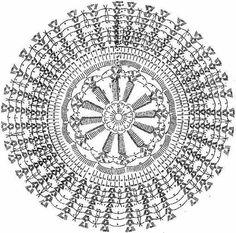 Crochet pattern Unit circular