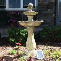 solar water fountain solar powered fountain solar powered fountain with battery backup   http://www.amazon.com/Powered-Fountain-Battery-Backup-Addition/dp/B00JIZ7OT8